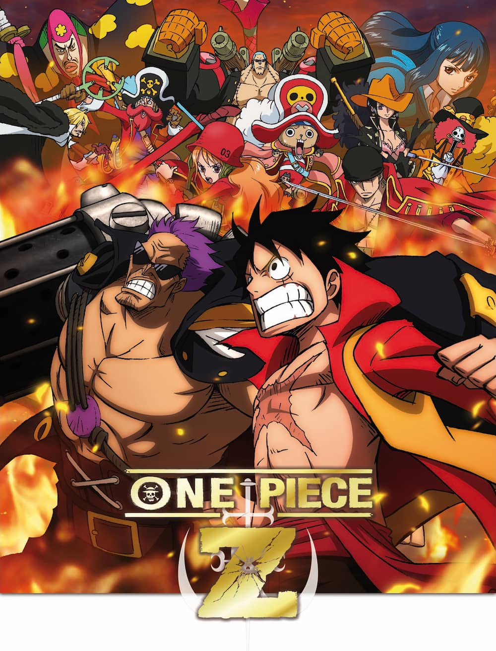 "ONE PIECE. ""Z""  BLURAY"