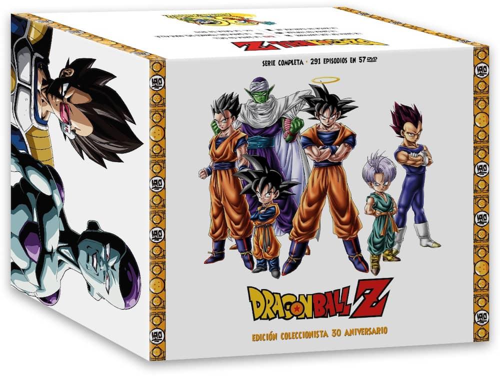 DRAGON BALL Z  SERIE COMPLETA DVD (EDICION COLECCIONISTA 30 ANIVERSARIO)