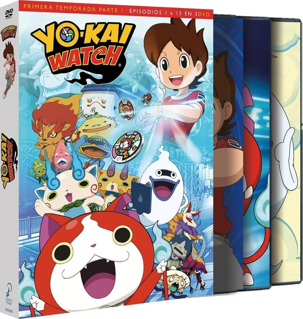 YOKAI WATCH TEMP 1 - Parte 1 DVD