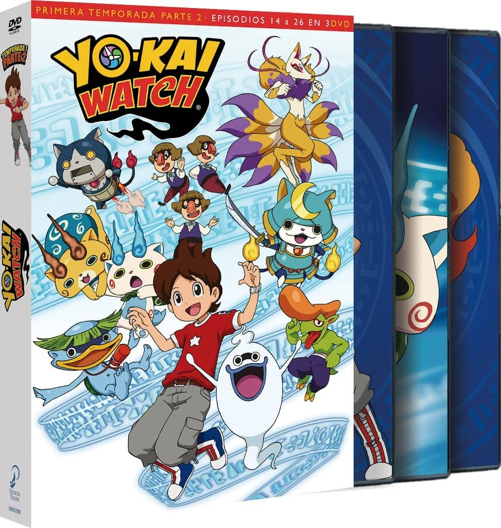 YOKAI WATCH TEMP 1 - Parte 2 DVD
