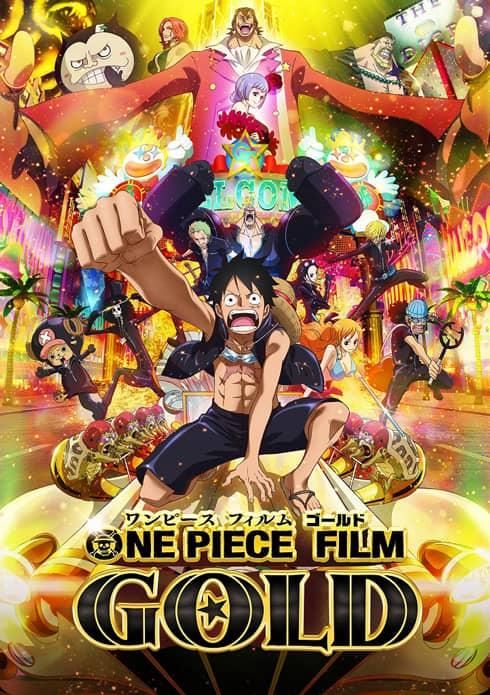 ONE PIECE. GOLD DVD