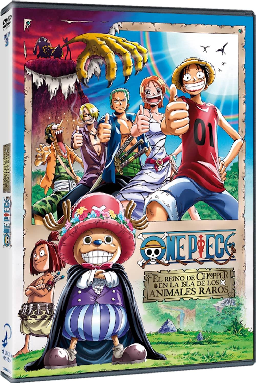 ONE PIECE FILM 3. DVD