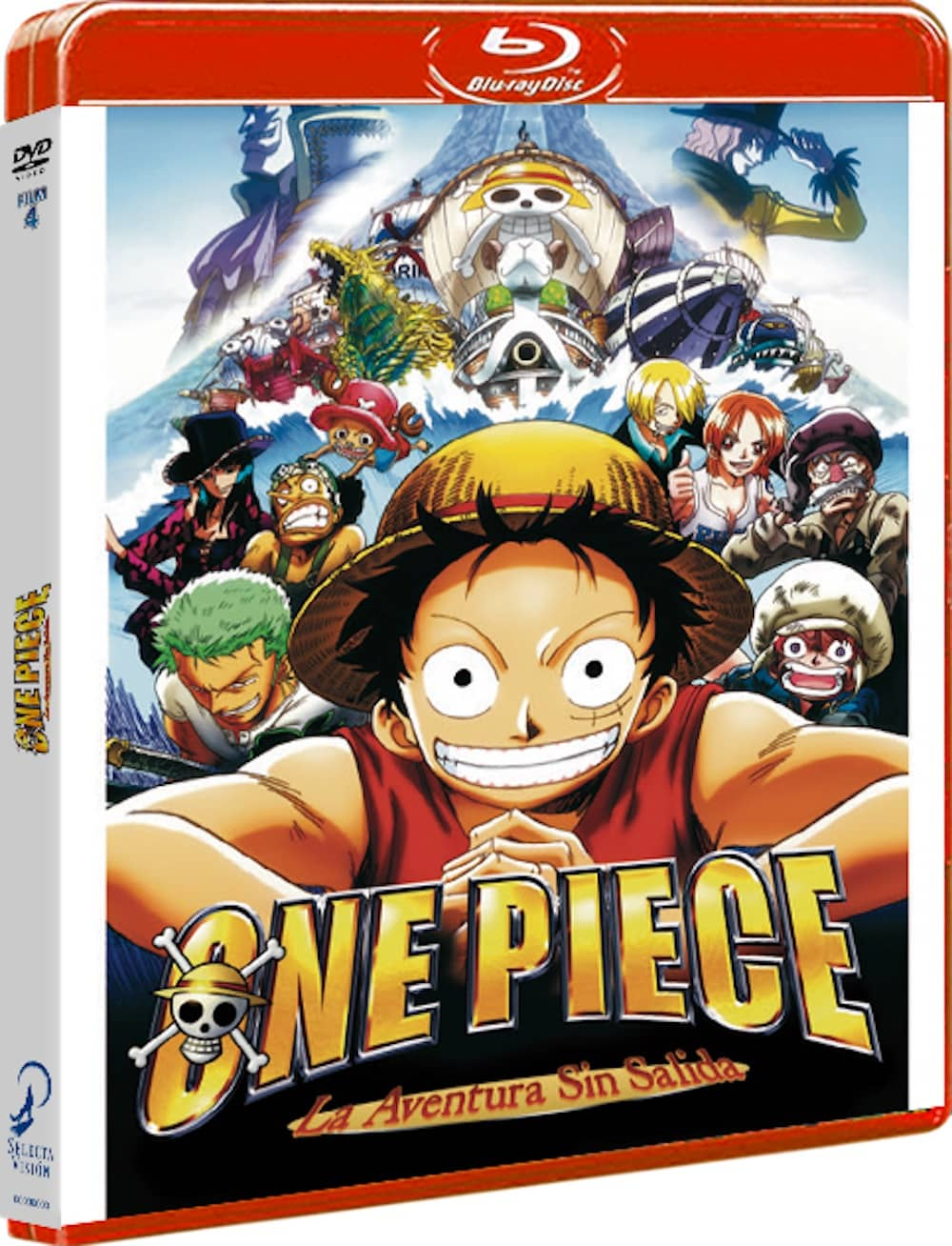 ONE PIECE FILM 4. BLU-RAY