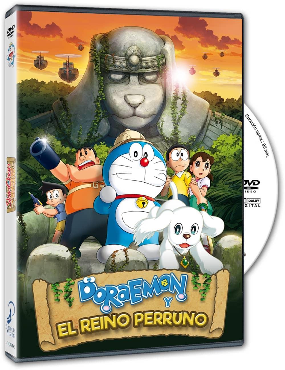 DORAEMON  Y EL REINO PERRUNO DVD