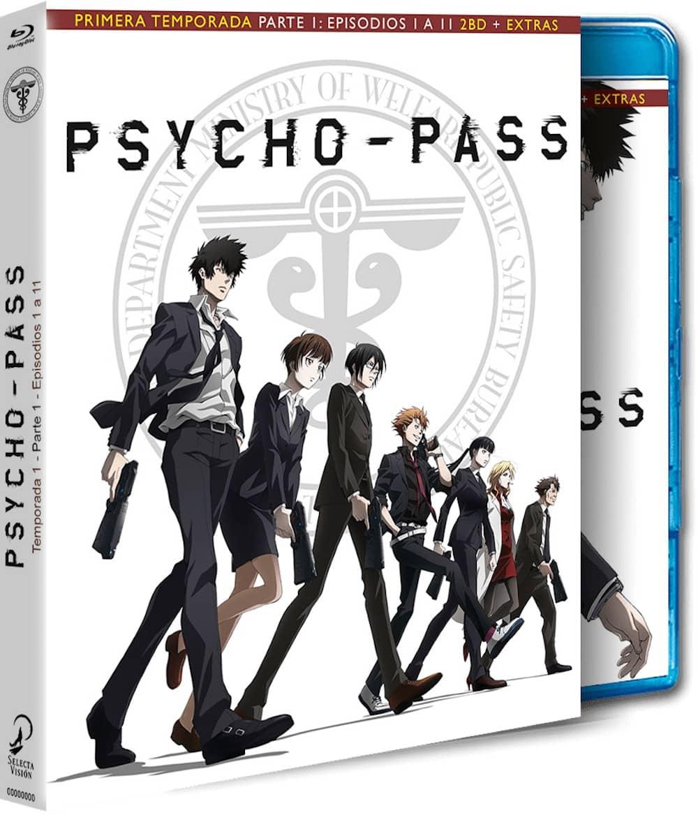 PSYCHO PASS TEMP 1 PARTE 1 (BD)