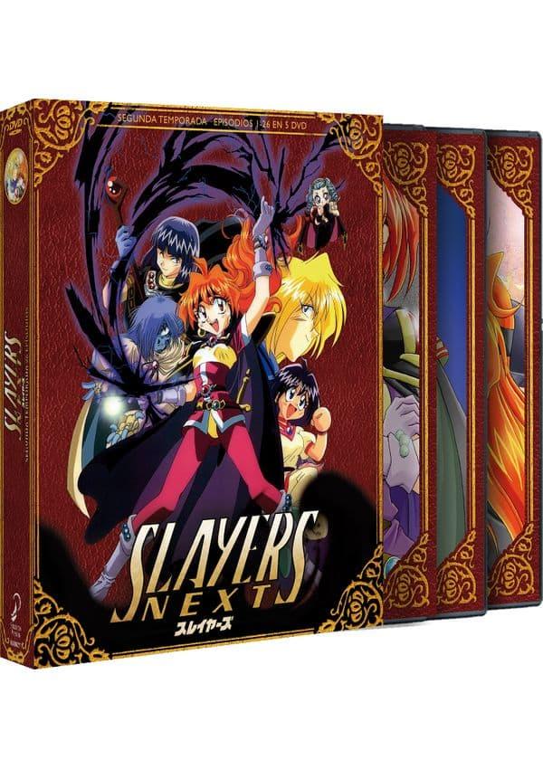SLAYERS NEXT DVD. SEGUNDA TEMPORADA