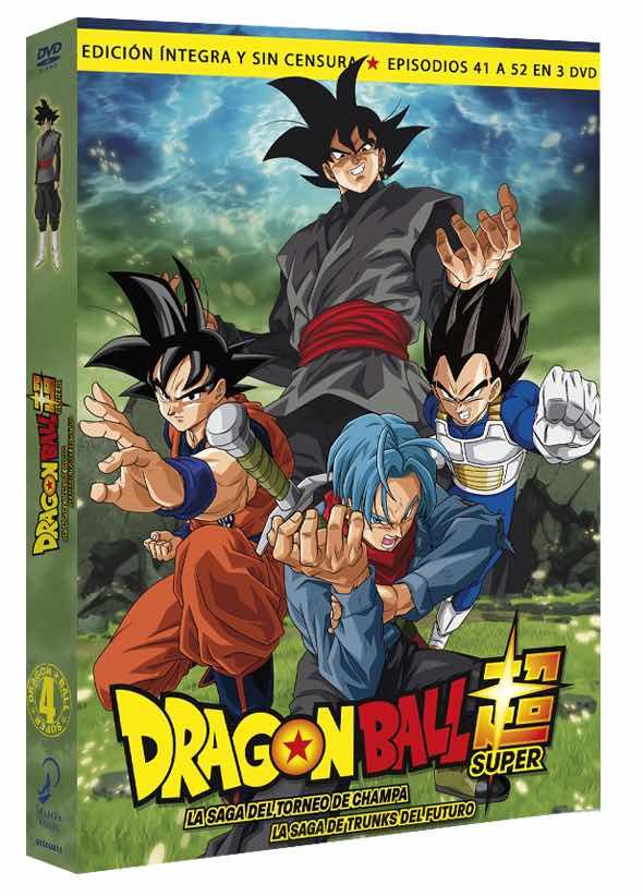DVD DRAGON BALL SUPER BOX 4. LA SAGA DEL TORNEO DE CHAMPA/ LA SAGA DE TRUNKS DEL FUTURO