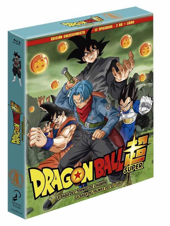 BD DRAGON BALL SUPER BOX 4 LA SAGA DEL TORNEO DE CHAMPA/ LA SAGA DE TRUNKS DEL FUTURO