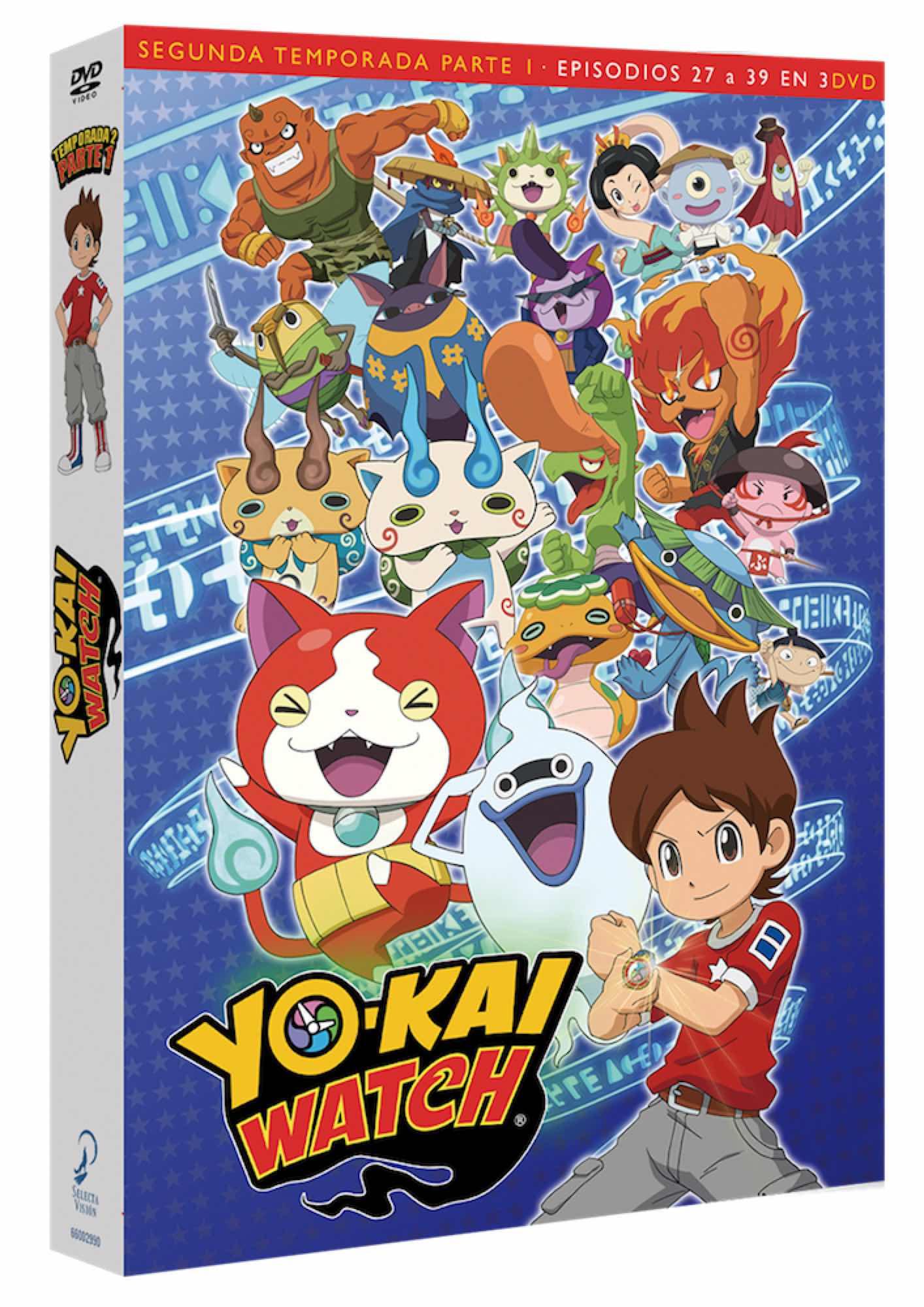 DVD YOKAI WATCH TEMP 2 PARTE 1