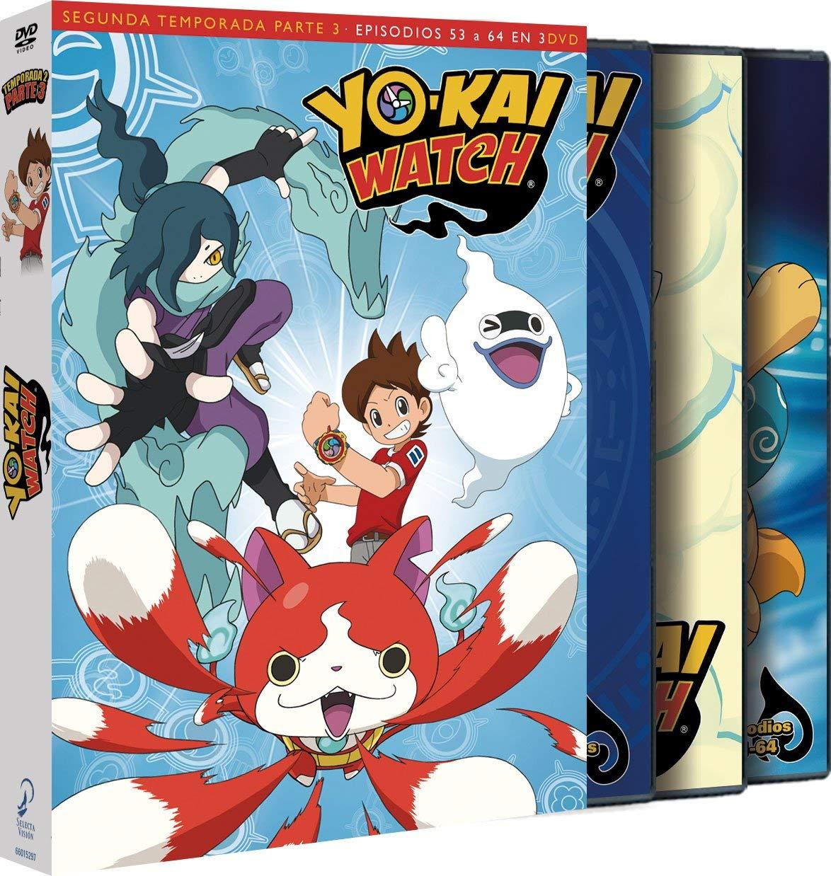 DVD YOKAI WATCH TEMP 2 PARTE 3