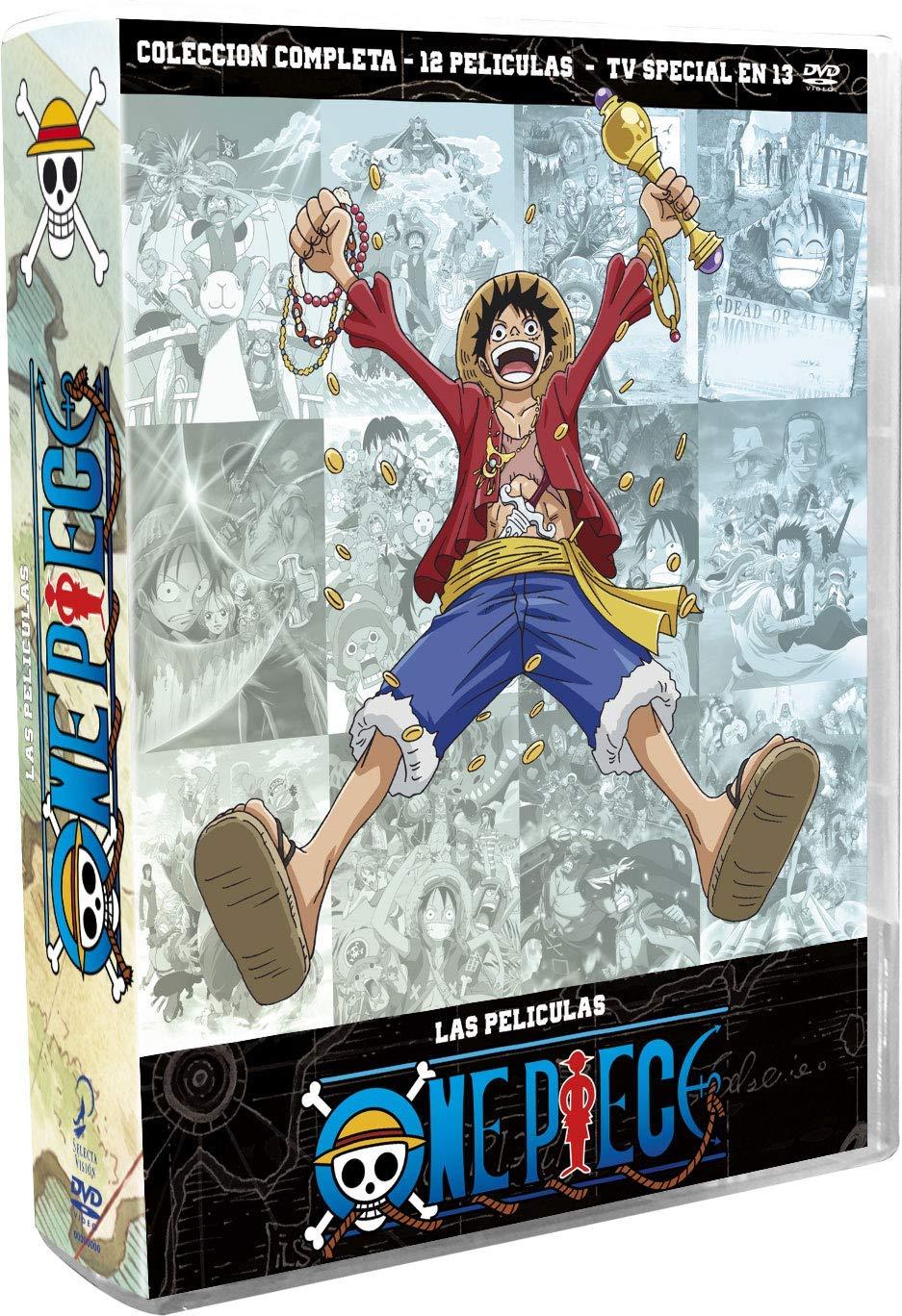 DVD ONE PIECE LAS PELICULAS COLECCION COMPLETA
