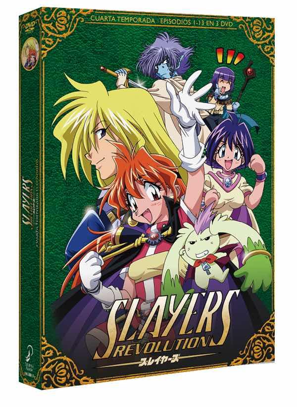 DVD SLAYERS REVOLUTION