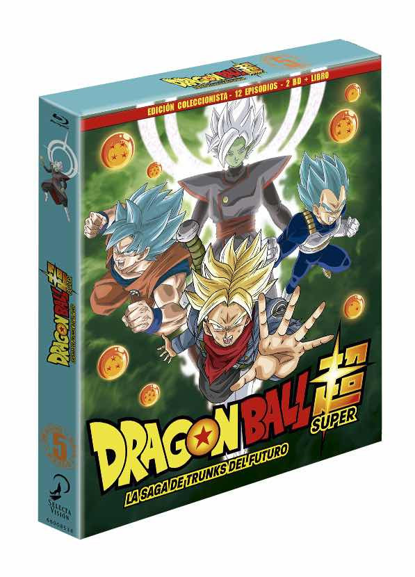 BD DRAGON BALL SUPER BOX 5. LA SAGA DE TRUNKS DEL FUTURO