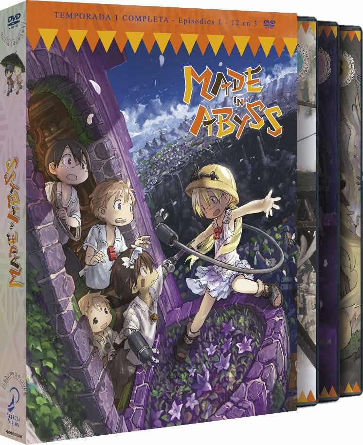 DVD MADE IN ABYSS