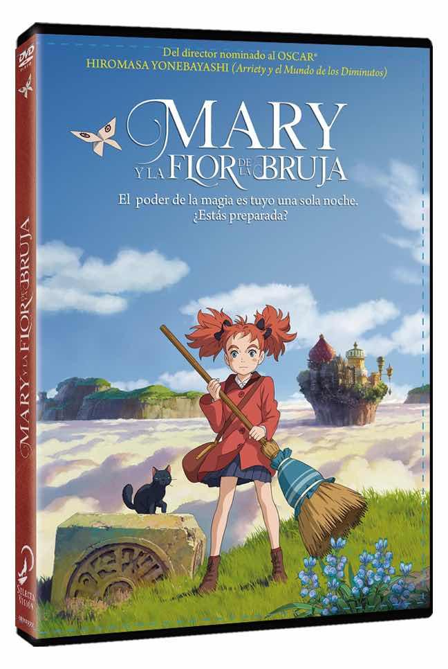 DVD MARY Y LA FLOR DE LA BRUJA