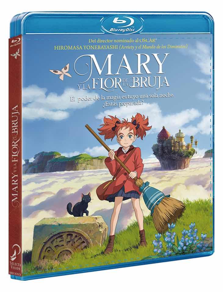 BD MARY Y LA FLOR DE LA BRUJA