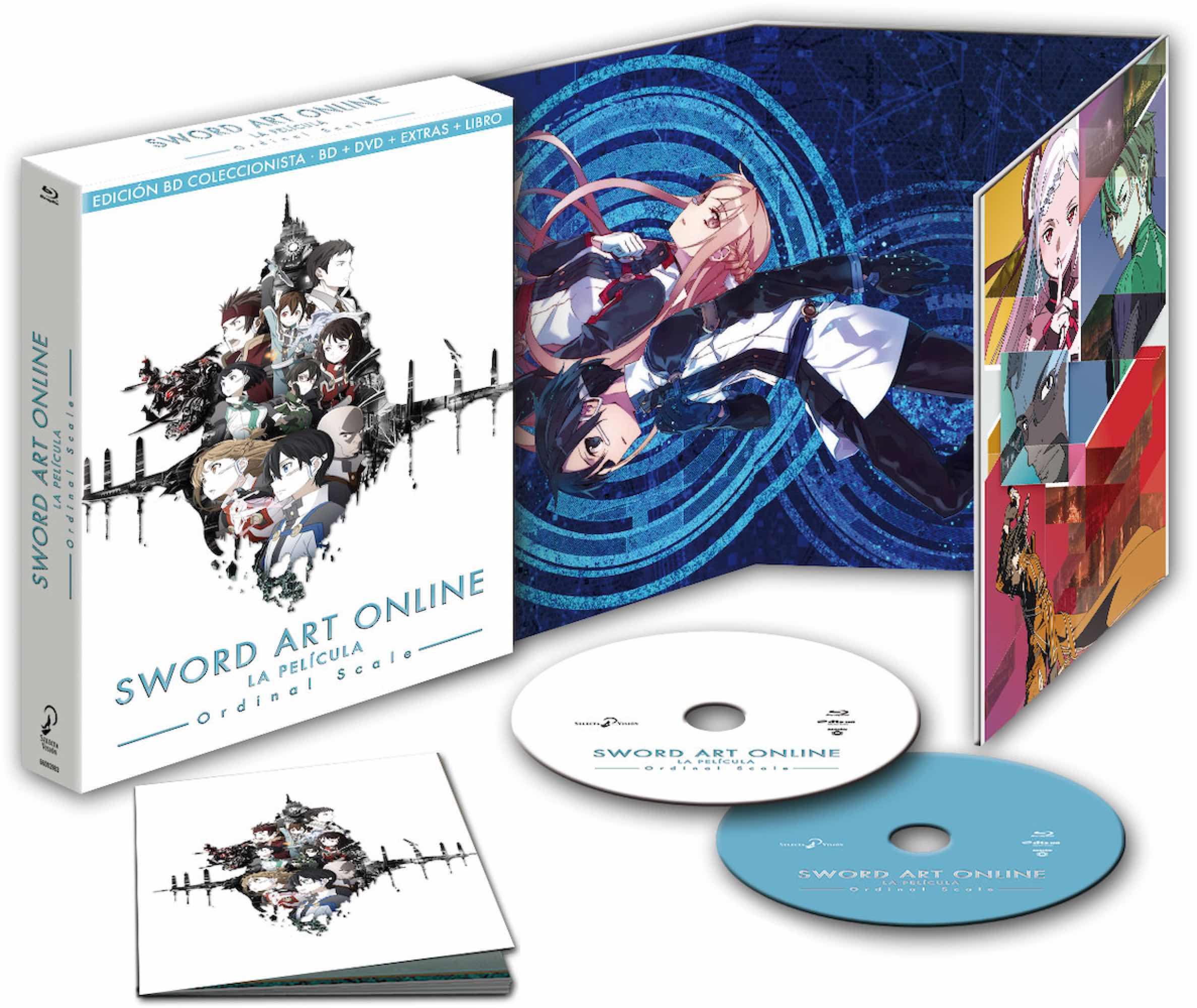 BD SWORD ART ONLINE ORDINAL SCALE EDICION COLECCIONISTA
