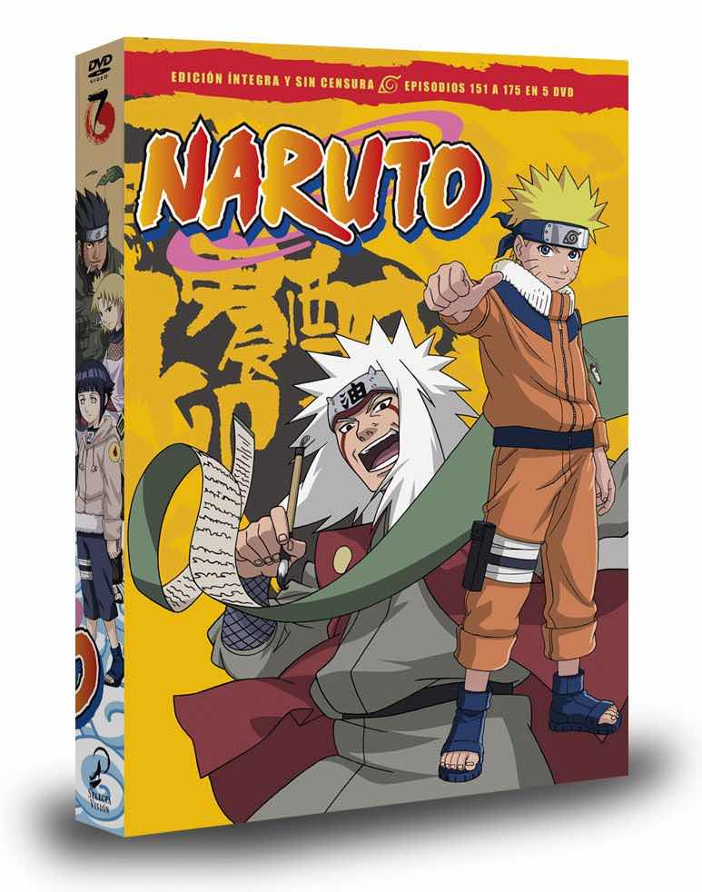 DVD NARUTO BOX 7
