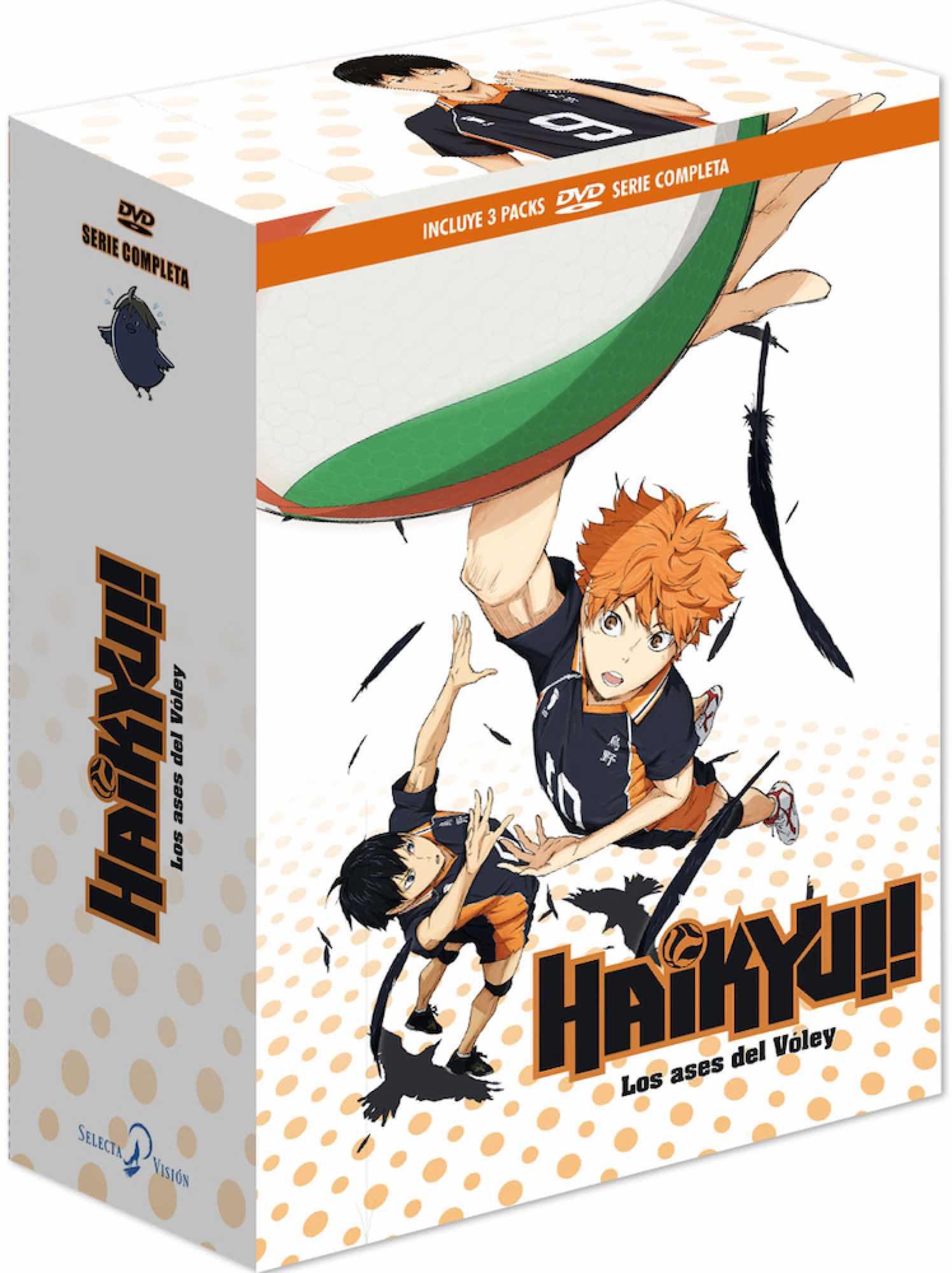 DVD HAIKYU! LOS ASES DEL VOLEY SERIE COMPLETA