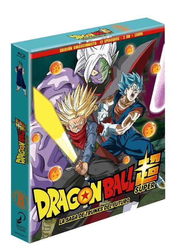 BD DRAGON BALL SUPER BOX 6. LA SAGA DE TRUNKS DEL FUTURO BLURAY COLECCIONISTAS