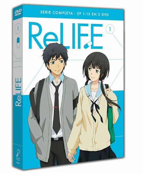 DVD RE-LIFE SERIE COMPLETA