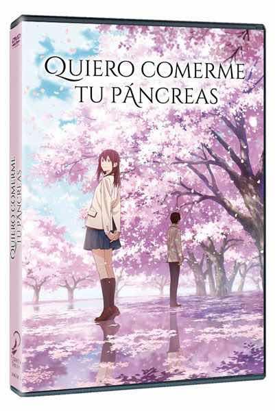DVD QUIERO COMERME TU PANCREAS