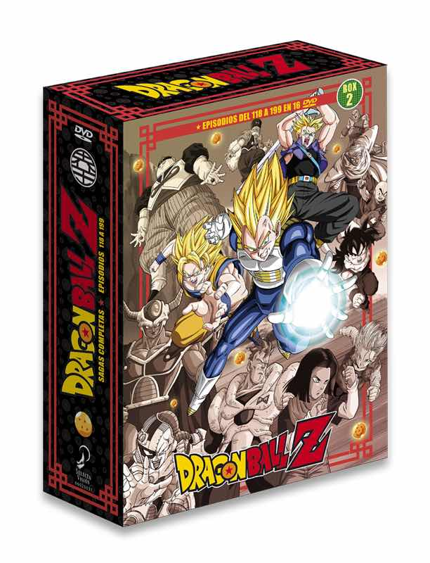 DVD DRAGON BALL Z SAGAS COMPLETAS BOX 2