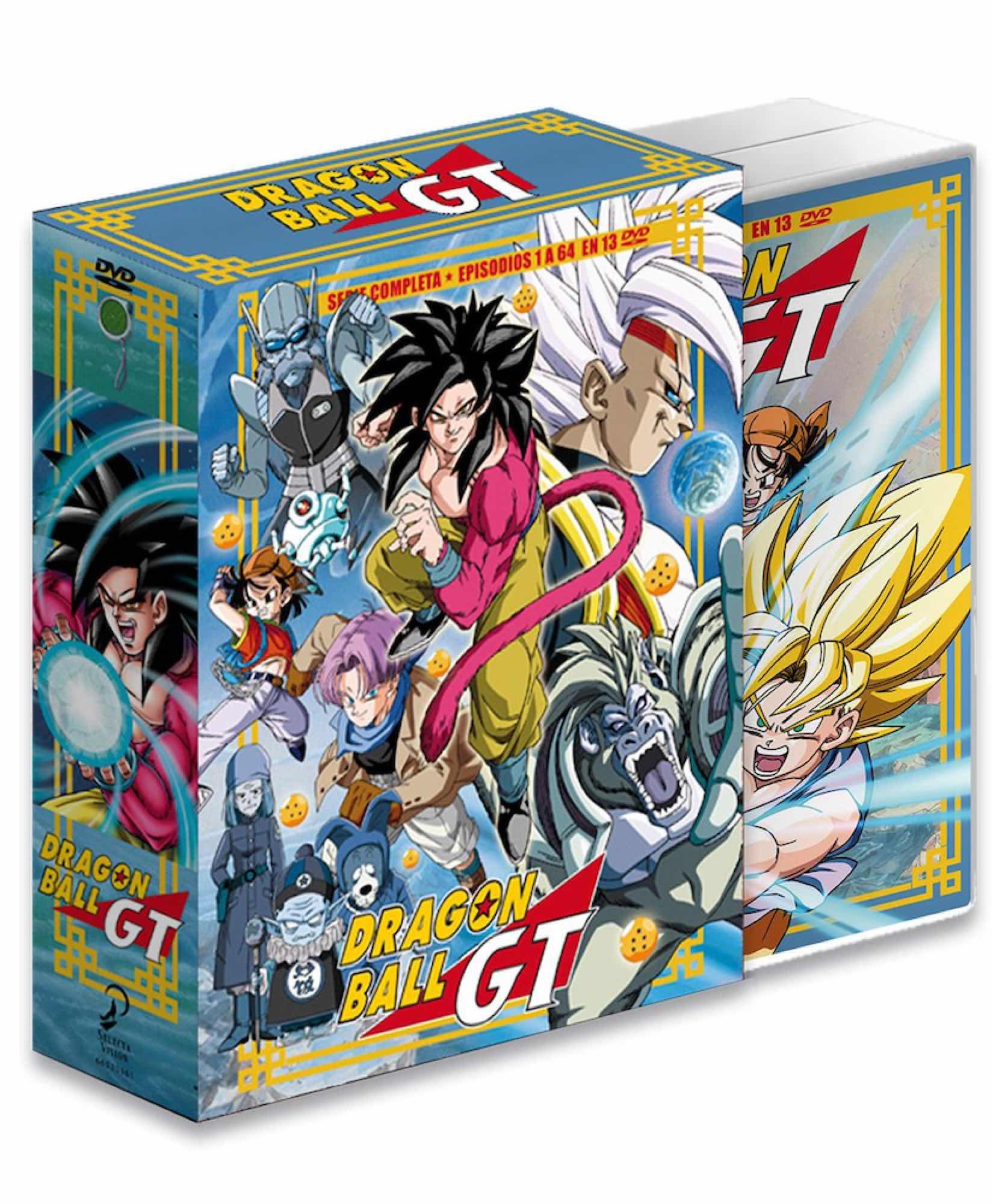 DVD DRAGON BALL GT SAGAS COMPLETAS