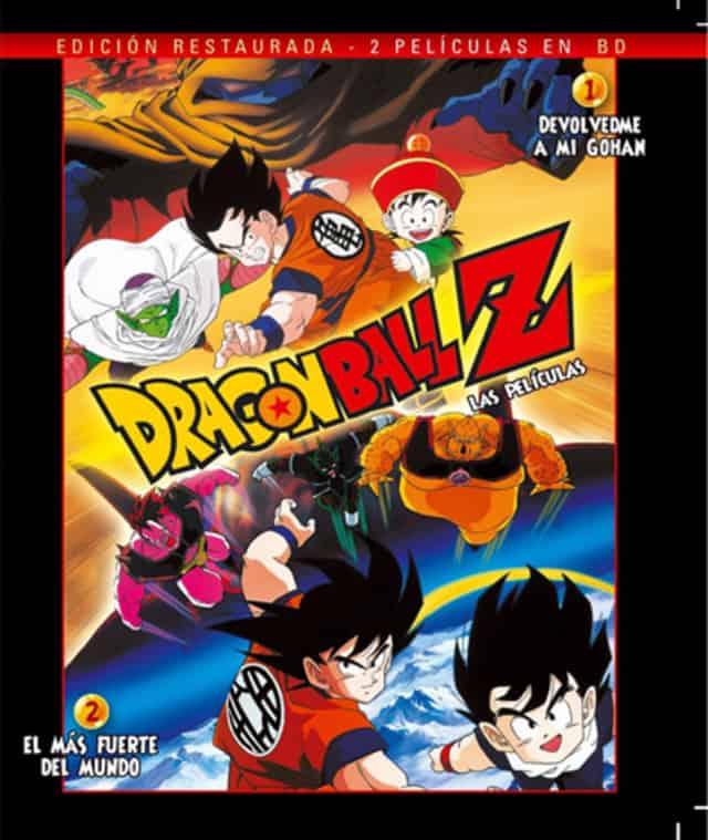 DRAGON BALL PELICULAS 1-2 BD