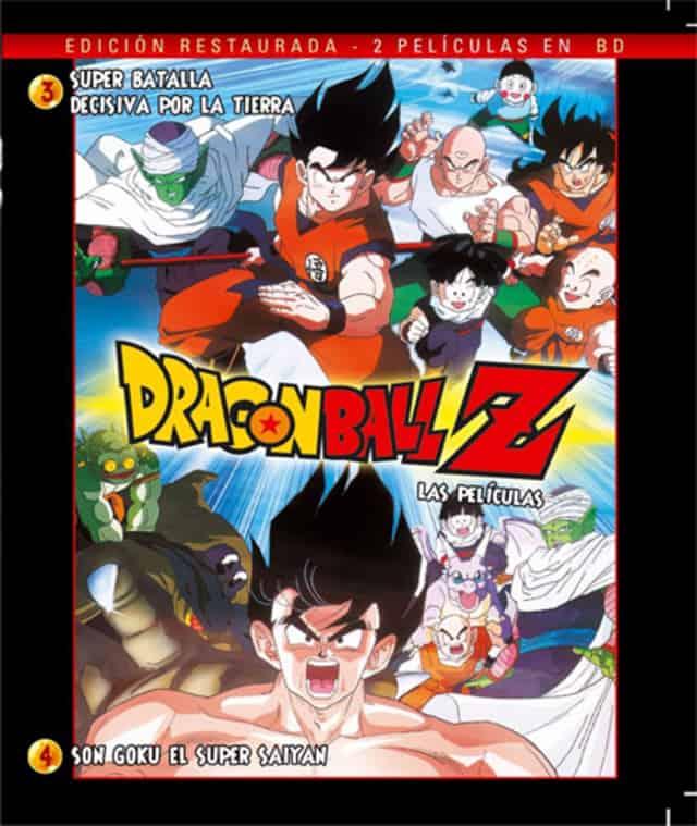 DRAGON BALL PELICULAS 3-4 BD