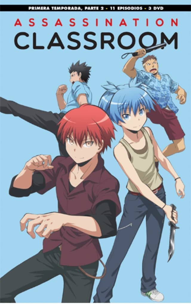 ASSASSINATION CLASSROOM EPISODIOS 12 A 22.- EDICION DVD