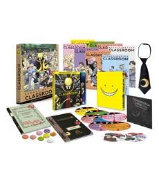 ASSASSINATION CLASSROOM EPISODIOS 12 A 22.- EDICION BLURAY COLECCIONISTAS
