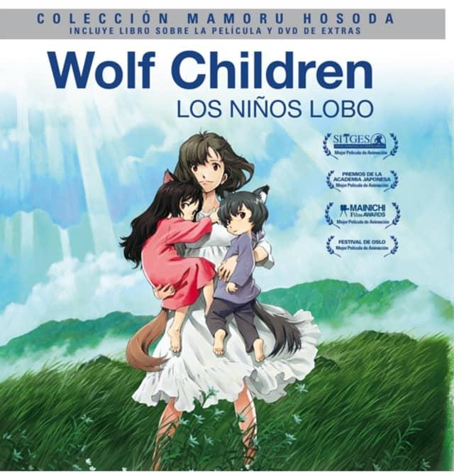 WOLF CHILDREN. EDICION DIGIBOOK. BLURAY