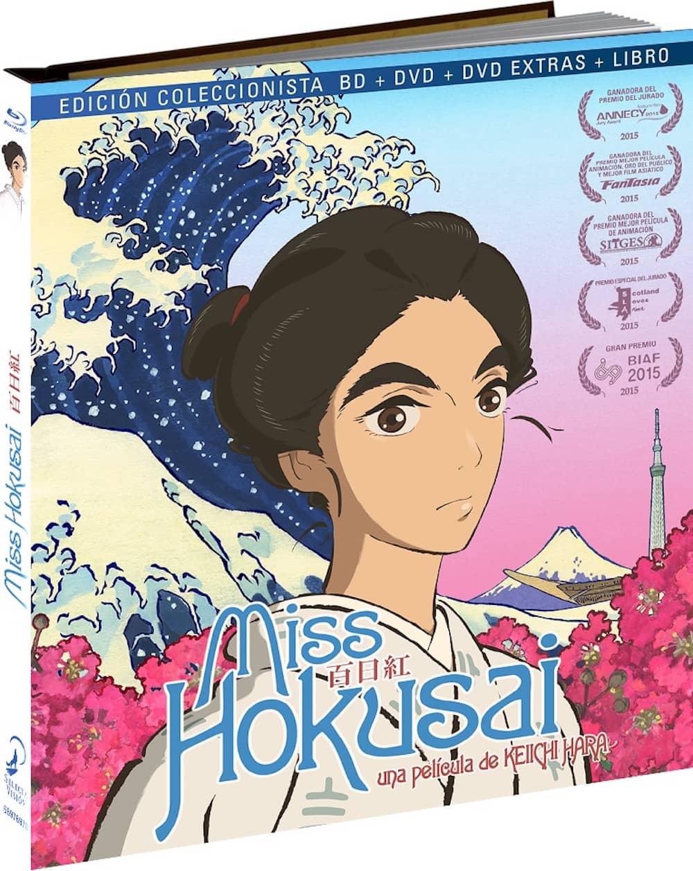 MISS HOKUSAI. EDICION DIGIBOOK. BLURAY