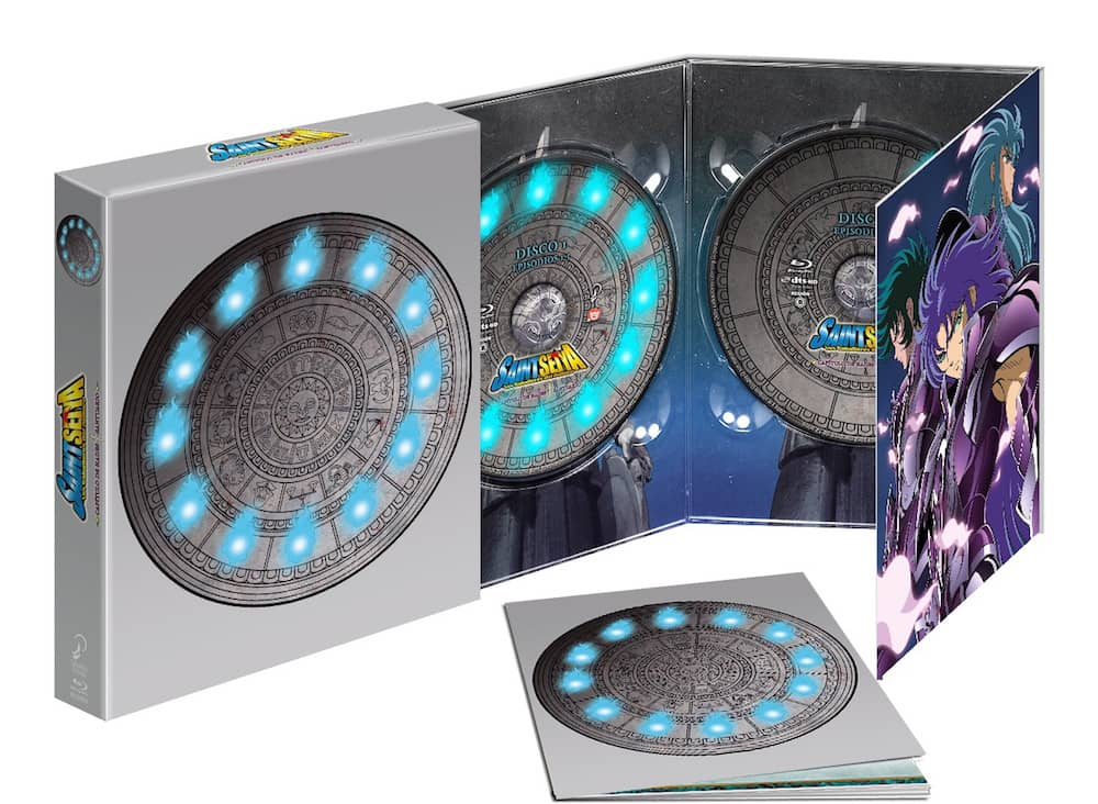 SAINT SEIYA HADES SANCTUARY BOX. BLURAY ED. COLECCIONISTAS