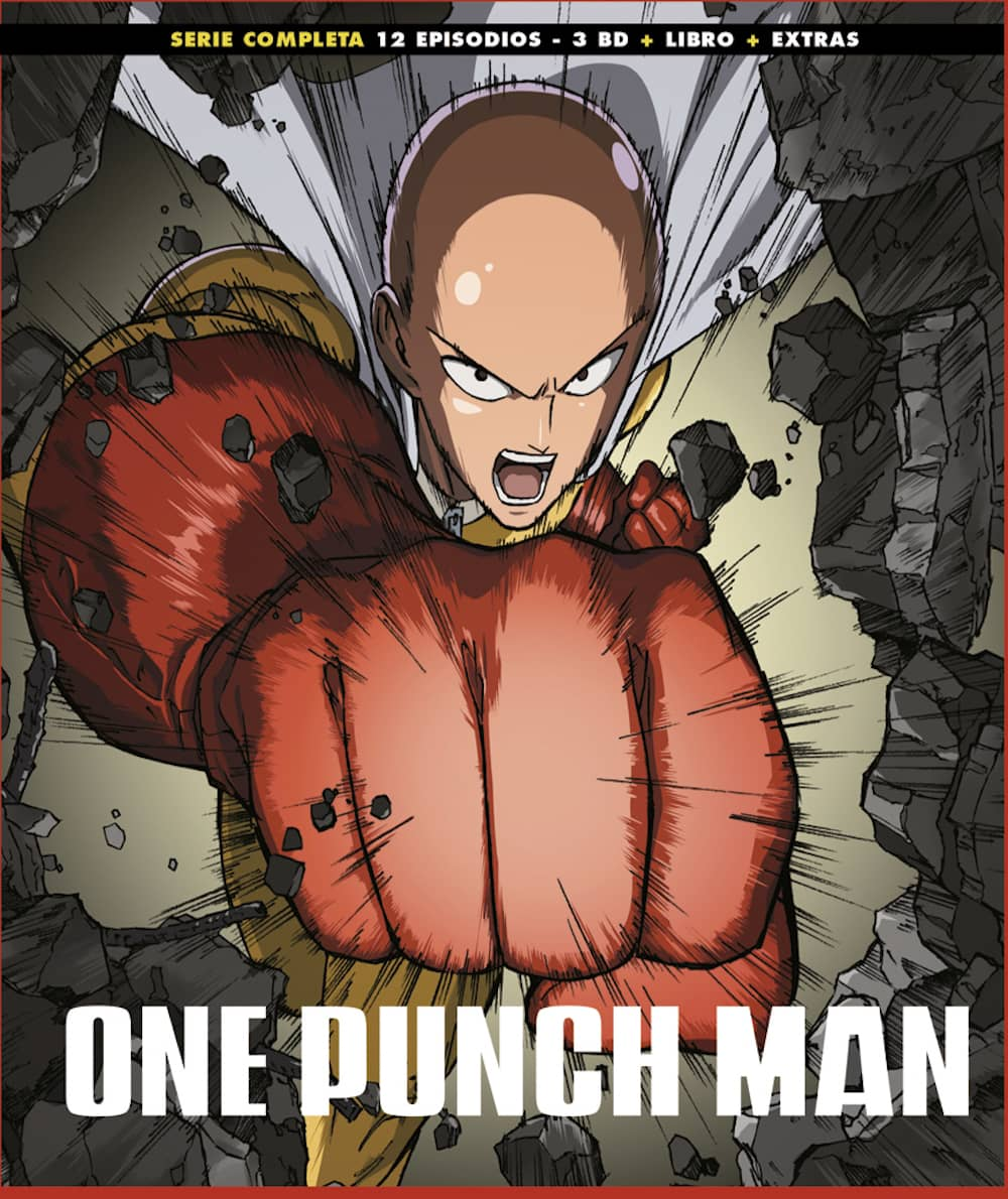 ONE PUNCH MAN TEMP 1 BLURAY ED. COLECCIONISTA