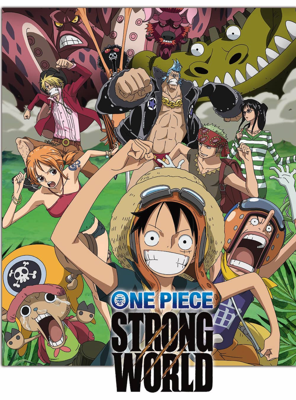 ONE PIECE. STRONG WORLD DVD