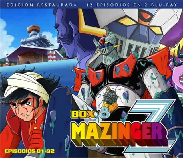 MAZINGER Z BOX 8 (2 BD)