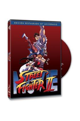 STREET FIGHTER II DVD