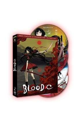 BLOOD C SERIE COMPLETA (4 DVD)