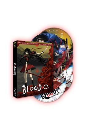 BLOOD C SERIE COMPLETA + PELICULA (COMBO 8 BD)