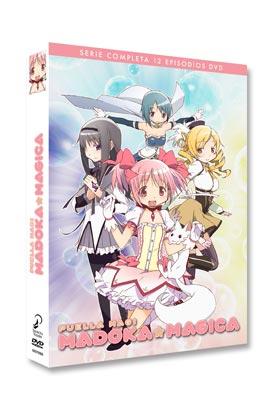 MADOKA MAGICA SERIE COMPLETA (3 DVD)