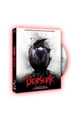 BERSERK LA EDAD DE ORO III DVD