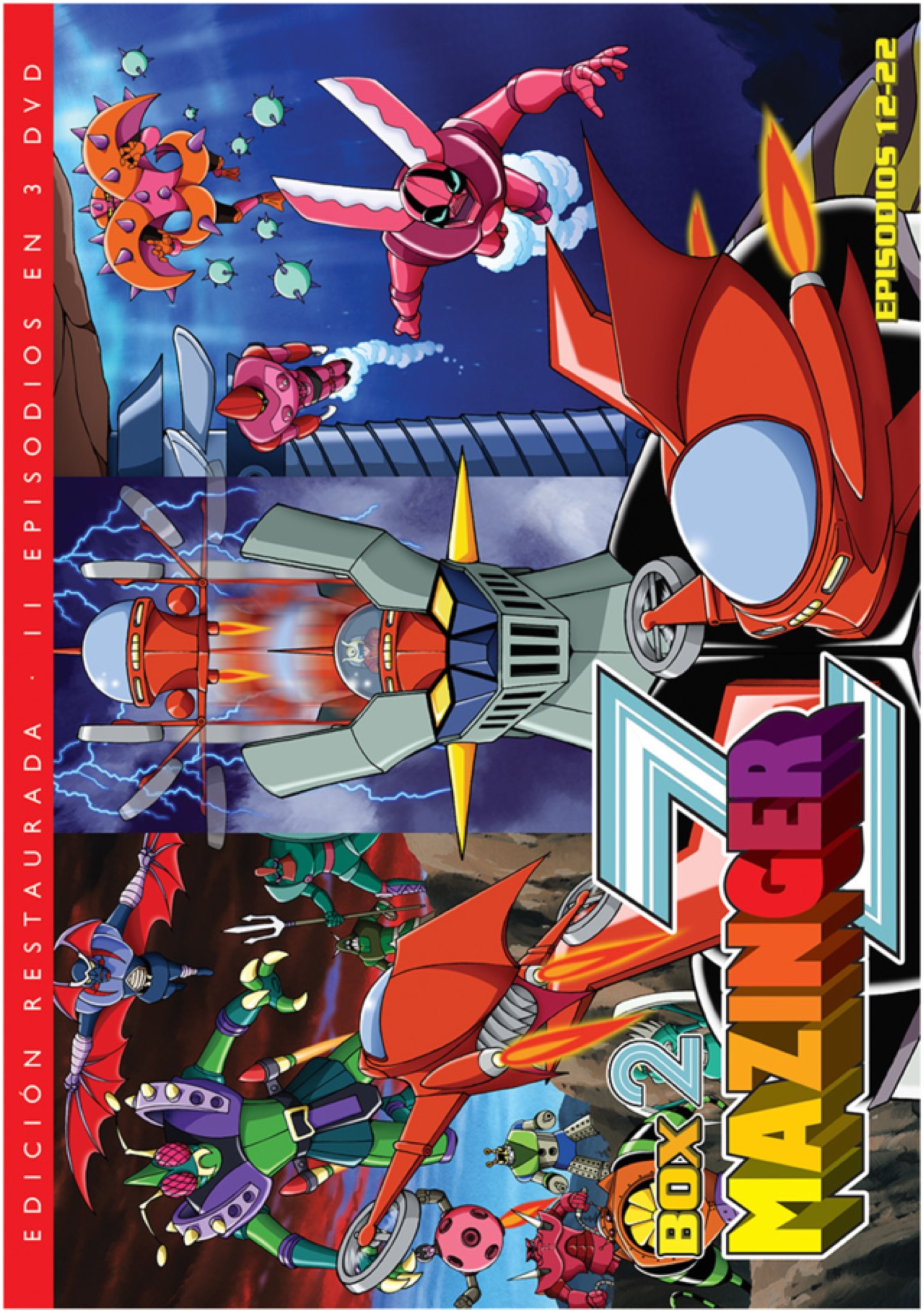 MAZINGER Z BOX 2 (3 DVD)