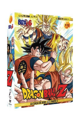 DRAGON BALL Z BOX 7 (8 DVD) - ULTIMATE EDITION