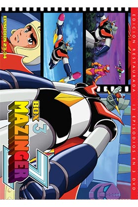 MAZINGER Z BOX 3 (3 BD).