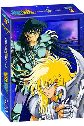 SAINT SEIYA BOX 3 (4 DVD)