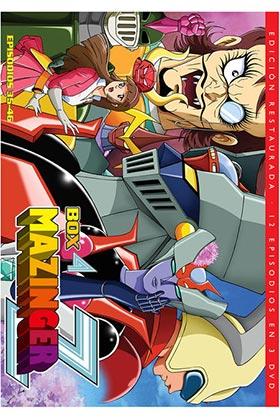 MAZINGER Z BOX 4 (3 DVD).