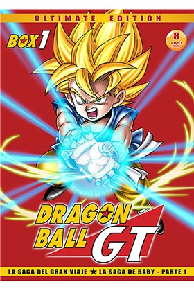 DRAGON BALL GT BOX 1 (8 DVD)