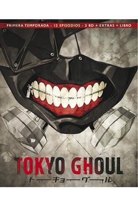 TOKYO GHOUL (2 BD + LIBRO + EXTRAS)
